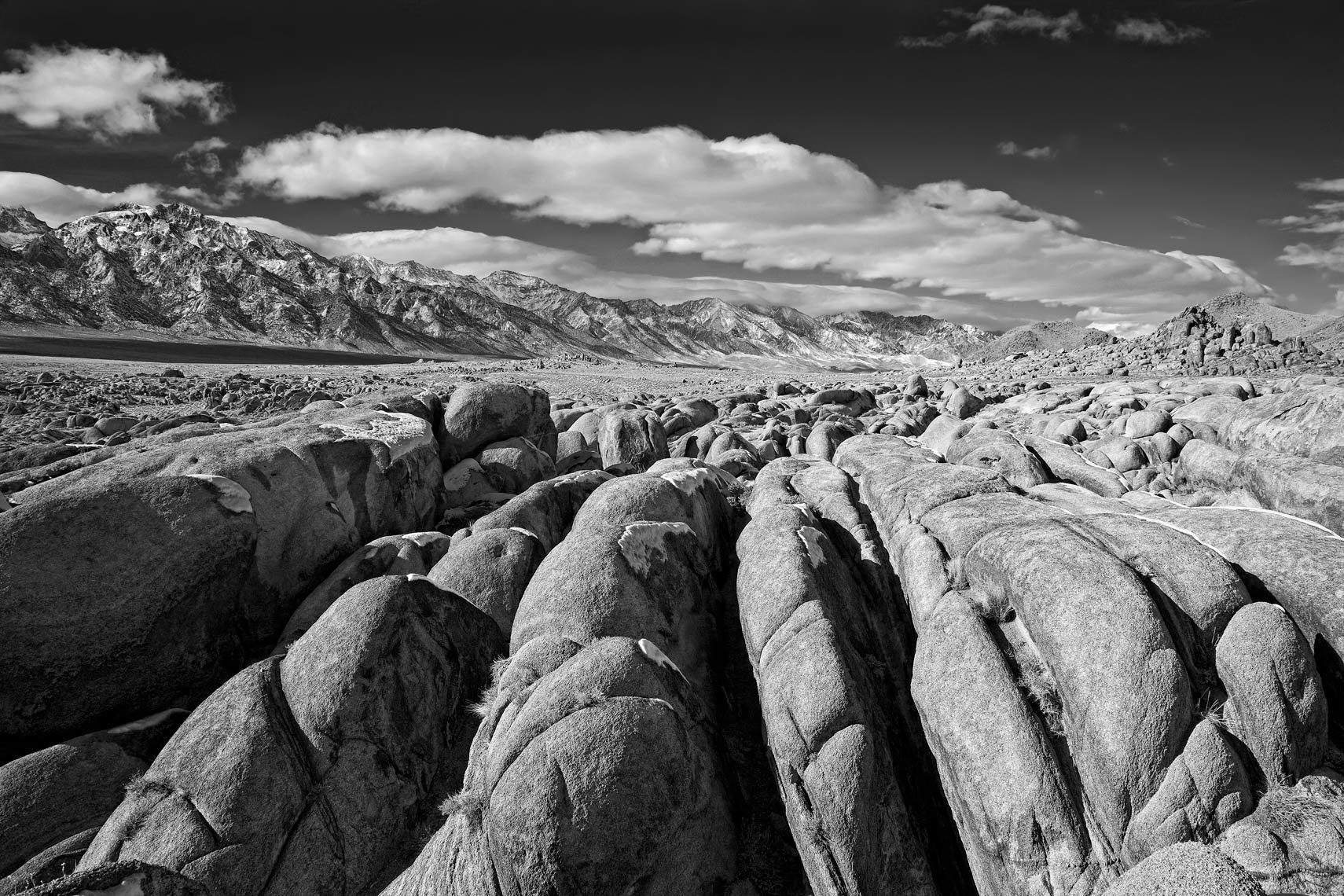 Alabama Hills - Black & White