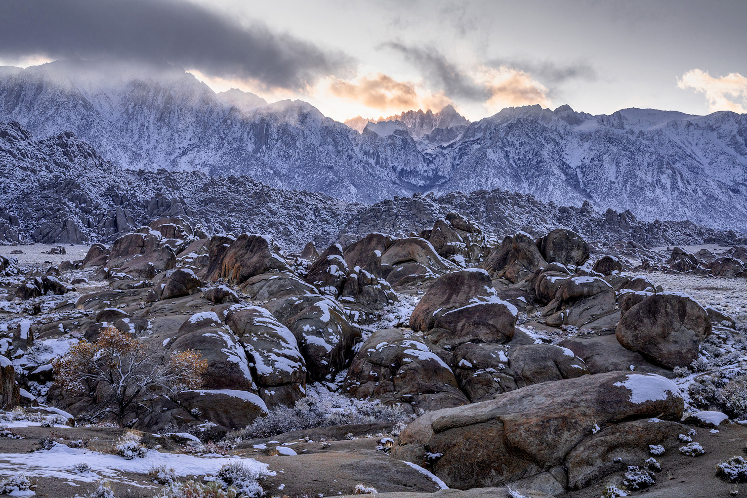 Alabama Hill/Mt. Whitney