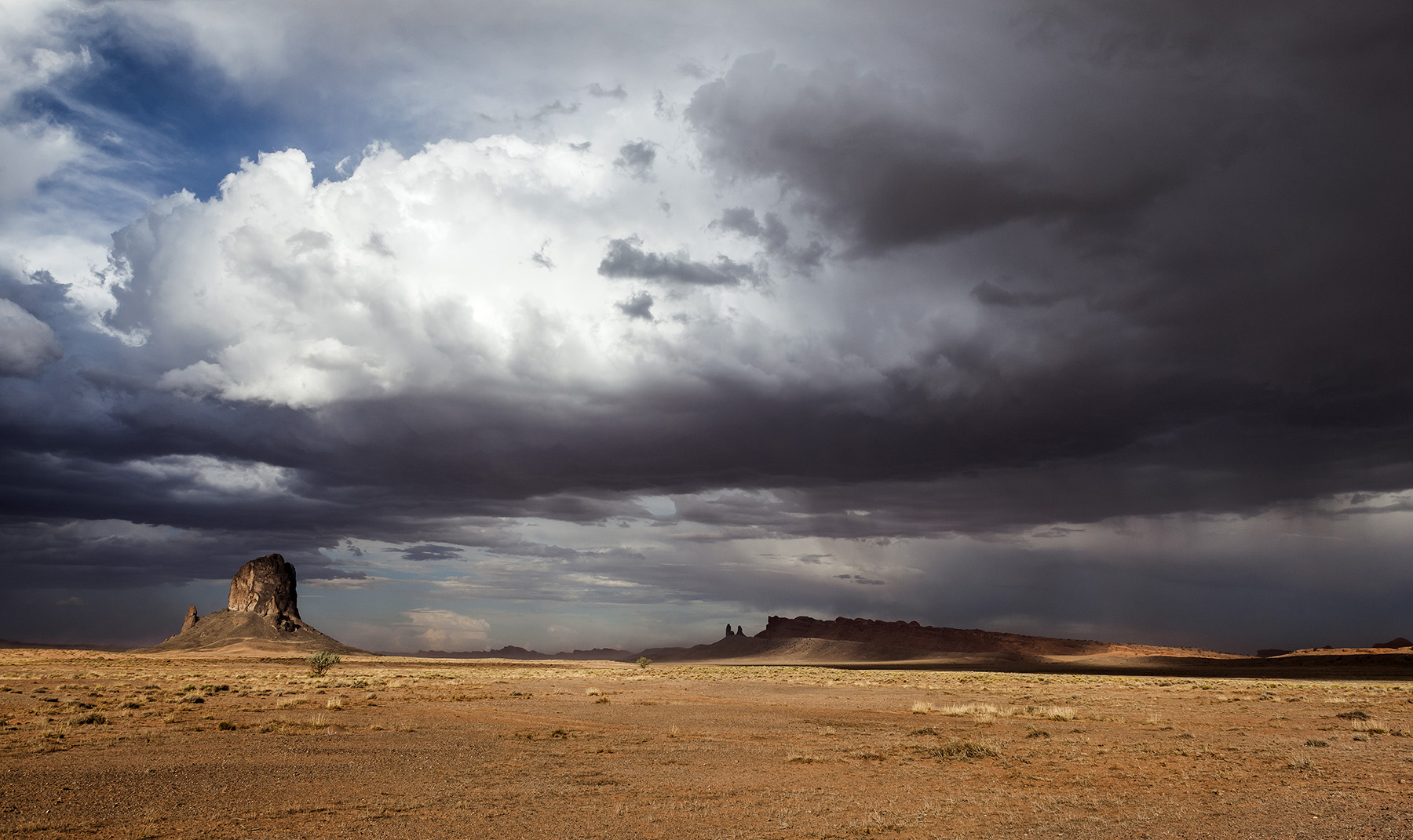 Storm Near Monument Valley