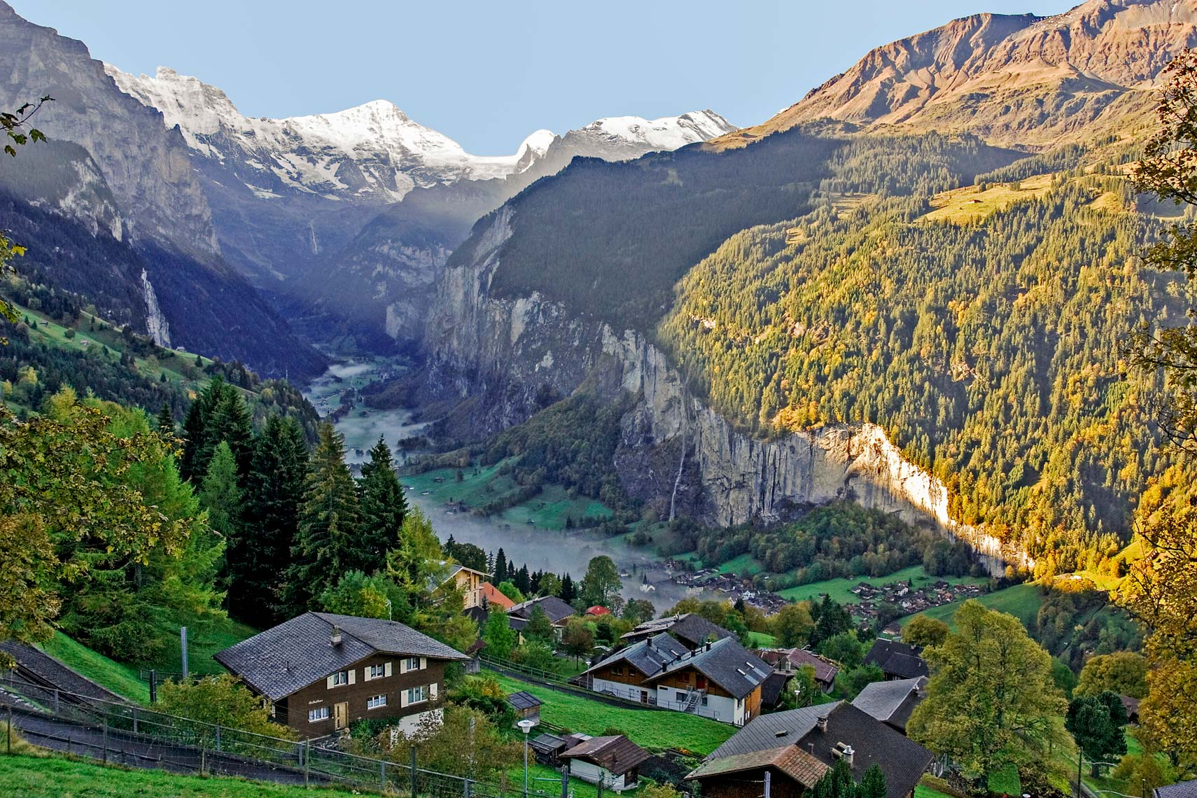 Swiss Alps - Lauderbrunen Valley